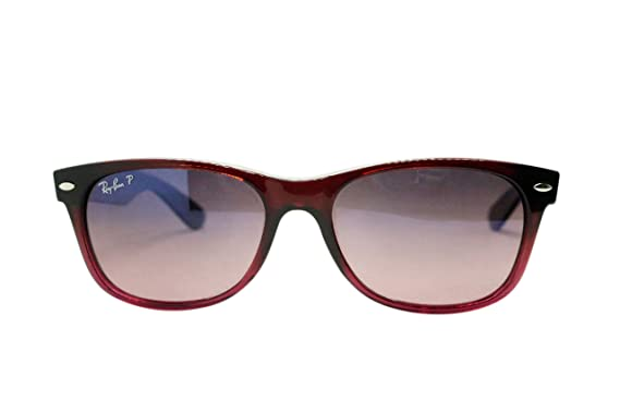 260d025f02 spain ray ban 0rb2132 874 5155 square sunglassesbrown gradient on antique  polar blue gradient pink55 mm