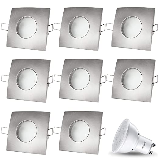 Foco LED empotrable Venecia Incluye X 3.5 W Led Philips 230 ...