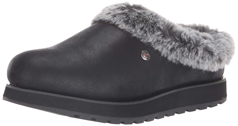 Skechers BOBS Women's Keepsakes R E M Wide Width Faux Fur Lined Shootie with Memory Foam Slipper
