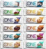 Oh Yeah! ONE Bar プロテインバー バラエティパック12種類 12Bars(Oh Yeah! ONE Bar 12 Flavor Variety Pack)
