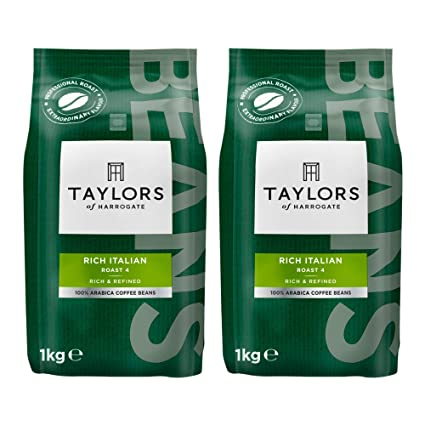 taylors of harrogate rich italian coffee beans, 1kg (pack of 2)  nane aceeasi jungle girlshare ro.php #2