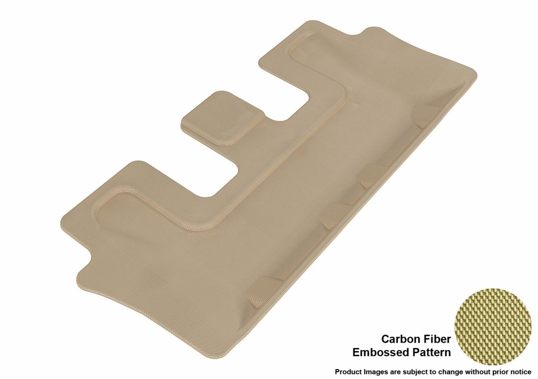 L1KA01611502 Kagu Rubber Tan 3D MAXpider Front Row Custom Fit All-Weather Floor Mat for Select Kia Sorento Models