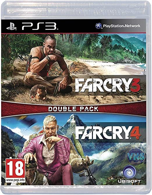 PS3 Far Cry 3 and Far Cry 4 Double Pack: Amazon.es: Videojuegos
