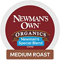 Newman's Own Organics Keurig Single-Serve K-Cup Pods Newman's Special Blend Medium Roast Coffee, 72 Count