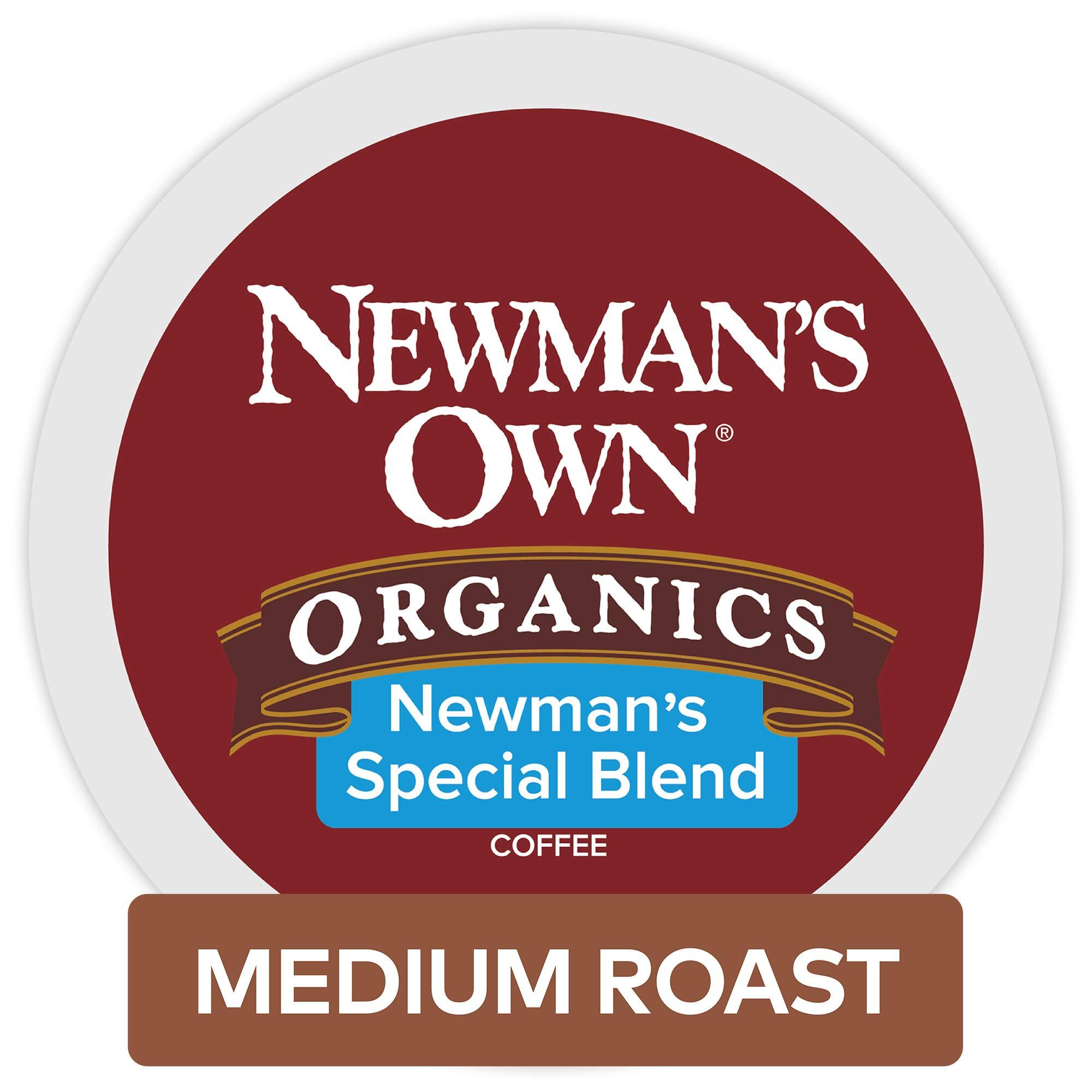 Newman's Own Organics Special Blend Keurig Single-Serve Medium Roast Coffee K-Cup Pods, 32 Count by Newman's Own Organics