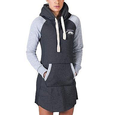 SMILODOX Longpullover Damen   Hoodie für Sport Fitness   Freizeit    Oversize Kapuzenpullover   Pullover - dbe65d4a19