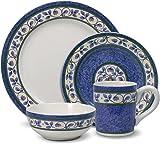Pfaltzgraff Orleans Dinnerware Set 16 Piece  sc 1 st  Amazon.com & Amazon.com | Pfaltzgraff Napoli 16-Piece Dinnerware Set Service for ...