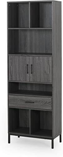 Great Deal Furniture Maureen Contemporary Faux Wood Cube Unit Bookcase