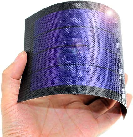 Amazon.com: Cargador de batería de panel solar ...