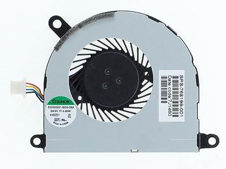 Portátil ventilador de refrigeración de CPU para HP ProBook 430 G2 ...