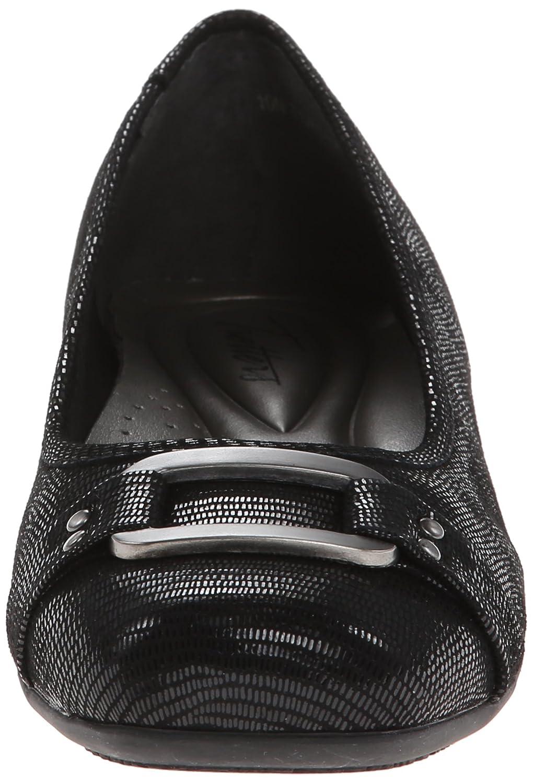 Trotters Women's Sizzle Flat B00HQ1DPNU 10.5 XW US|Black