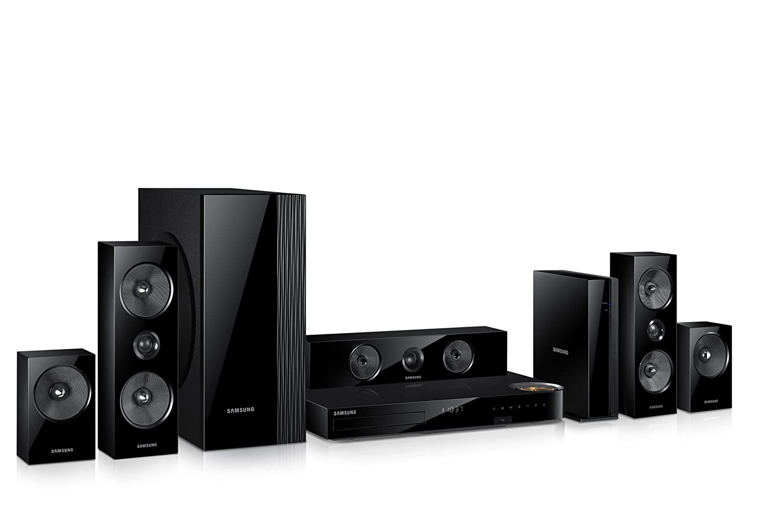 samsung home theater 2013. amazon.com: samsung ht-f6500w 5.1 channel 1000-watt 3d blu-ray home theater system: electronics 2013 s