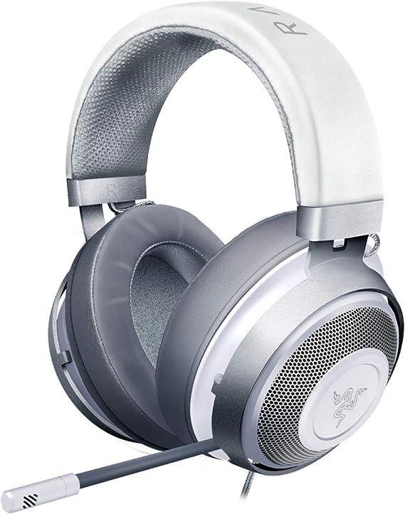 Razer Kraken Gaming Headset: Lightweight Aluminum Frame - Retractable Noise Isolating Microphone - For PC