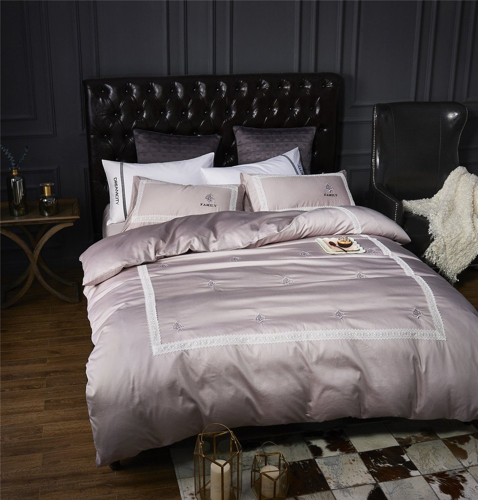 Luxury Hotel Quality 100 Cotton Bedding Set 600 Thread Count Soft Comfortable Four Piece White Duvet Cover Set F Queen2 60 Off Siddharthaengineering In