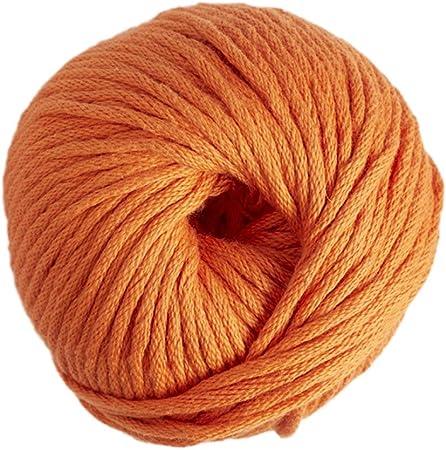 DMC Natura Hilo, 100% algodón, Color 10, Color Naranja, Talla XL: Amazon.es: Hogar