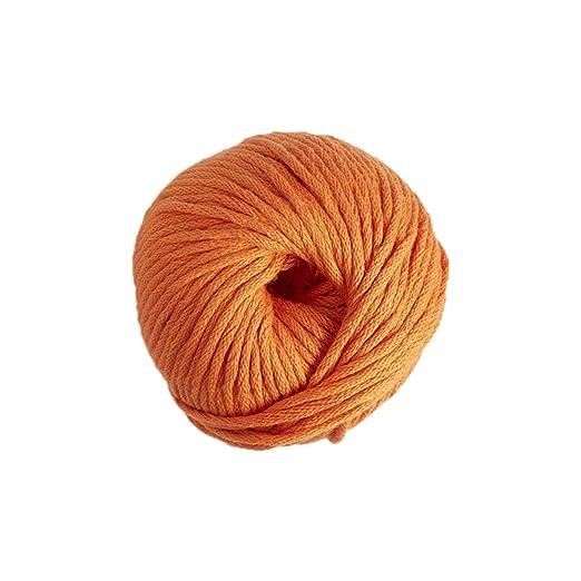 DMC Natura Hilo, 100% algodón, Color 10, Color Naranja, Talla XL ...