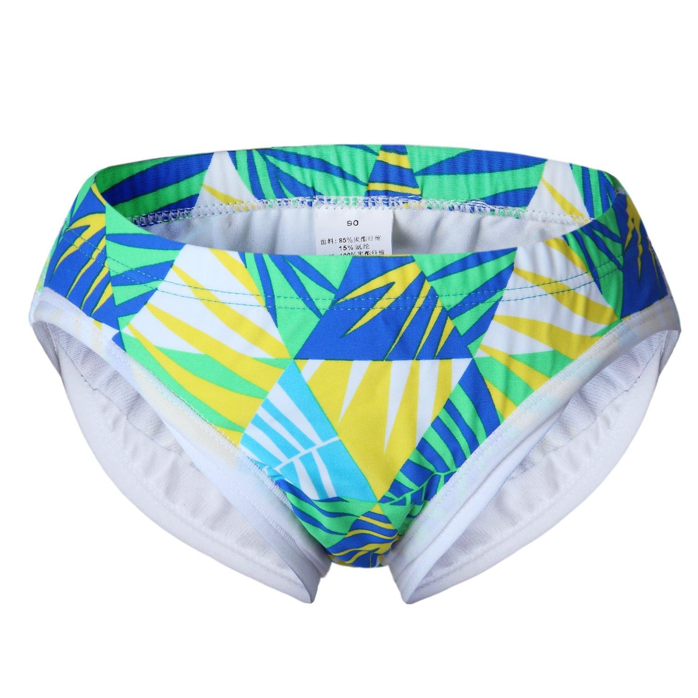 vivobiniya Toddler Baby Boy Swim Trunks Boy Swimsuits Diaper 6m-2y (90cm(1-2years Old), color7) 6688