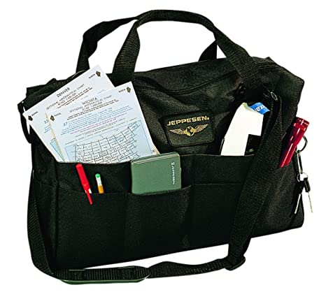 Image Unavailable. Image not available for. Color  Jeppesen - Student Pilot  Book Bag 10001301 JS621212 f55255fa3a3