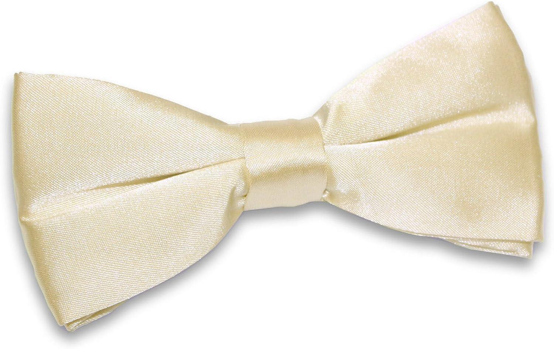 Uomo Cravatta a Farfalla Moda Classico Nuziale Pre-legato Regolabile Papillon