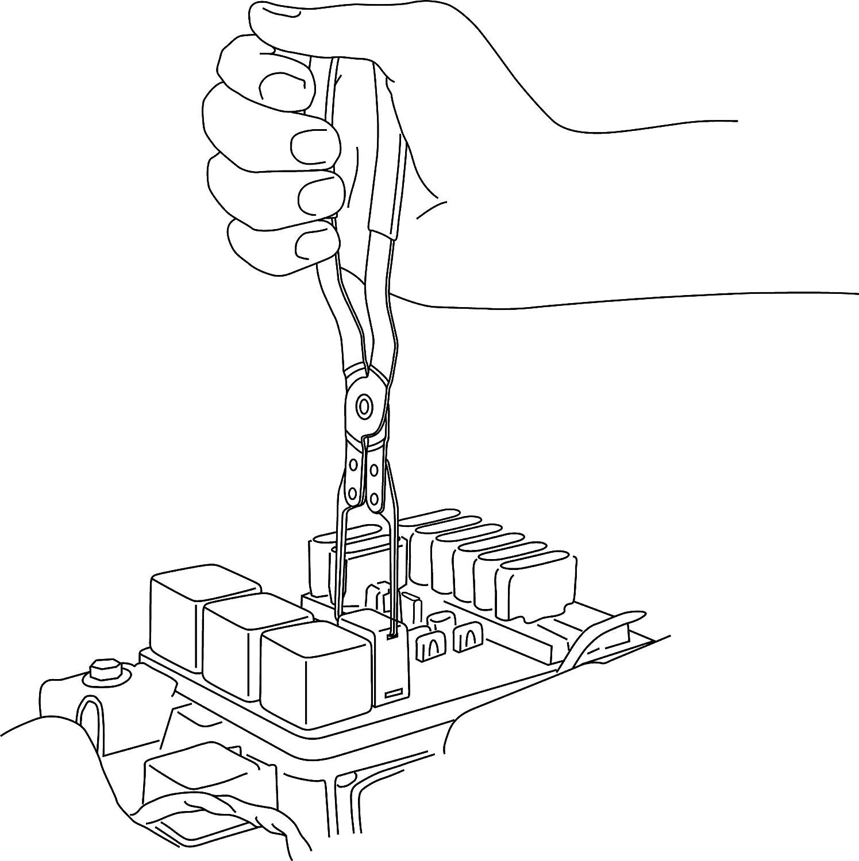 Lisle 46950 Relay Puller Pliers Automotive Toyota Pickup Fuel Pump