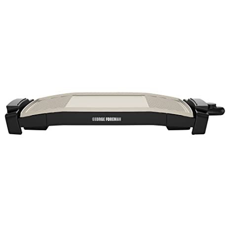 George Foreman GFG240X Dual Surface Griddle + Grill, Ceramic