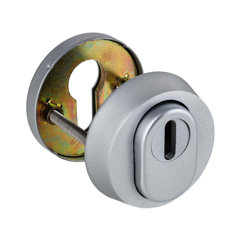 avec protection de cylindre ES1/ WK2 Aluminium F1 multifonctionnel Rosette de protection
