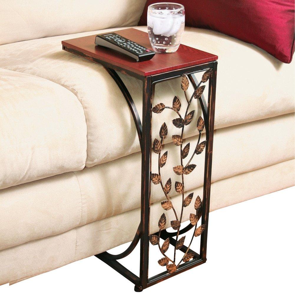 Amazoncom Leaf Design Sofa Side Table Home Kitchen