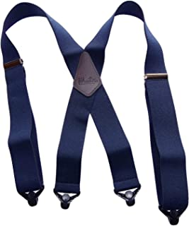 product image for Hold-Ups Extra Long XL Navy Blue work Suspenders with Jumbo Gripper Clasps