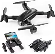 SNAPTAIN SP500 Foldable GPS FPV Drone with 1080P HD Camera Live Video for Beginners, RC Quadcopter with GPS Return Home, Fol