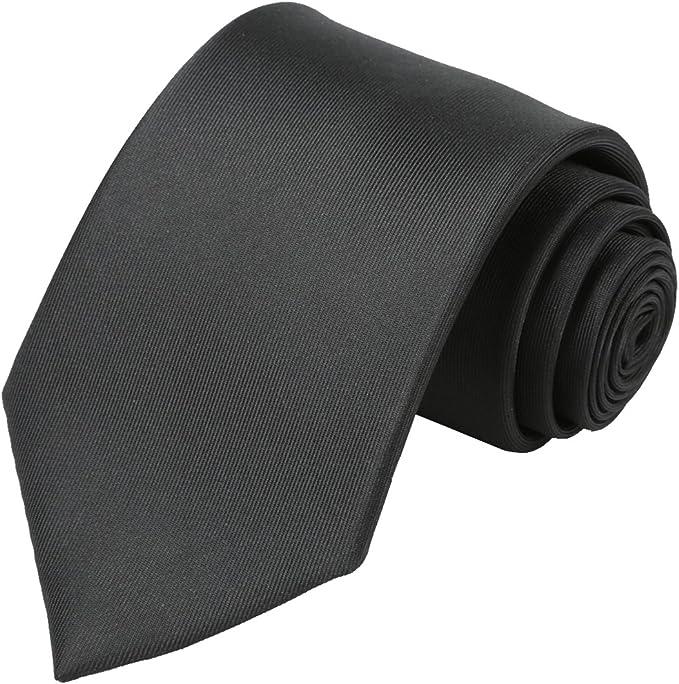 Mens NeckTie Slim Skinny Office Solid Plain Stripe Satin Tie Fancy Party wedding