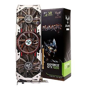 Amazon.com: Colorful GeForce GTX 1080 Ti Vulcan AD 11 GB ...