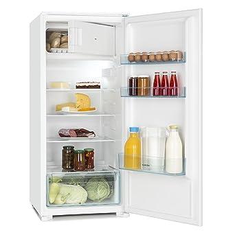 Klarstein Coolzone 186 Combinación nevera y congelador (refrigerador de 171 litros, congelador de 15