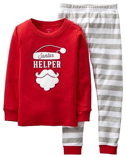 29da3753e Amazon.com  Carter s Little Boys  2 Piece Santa Helper Striped ...