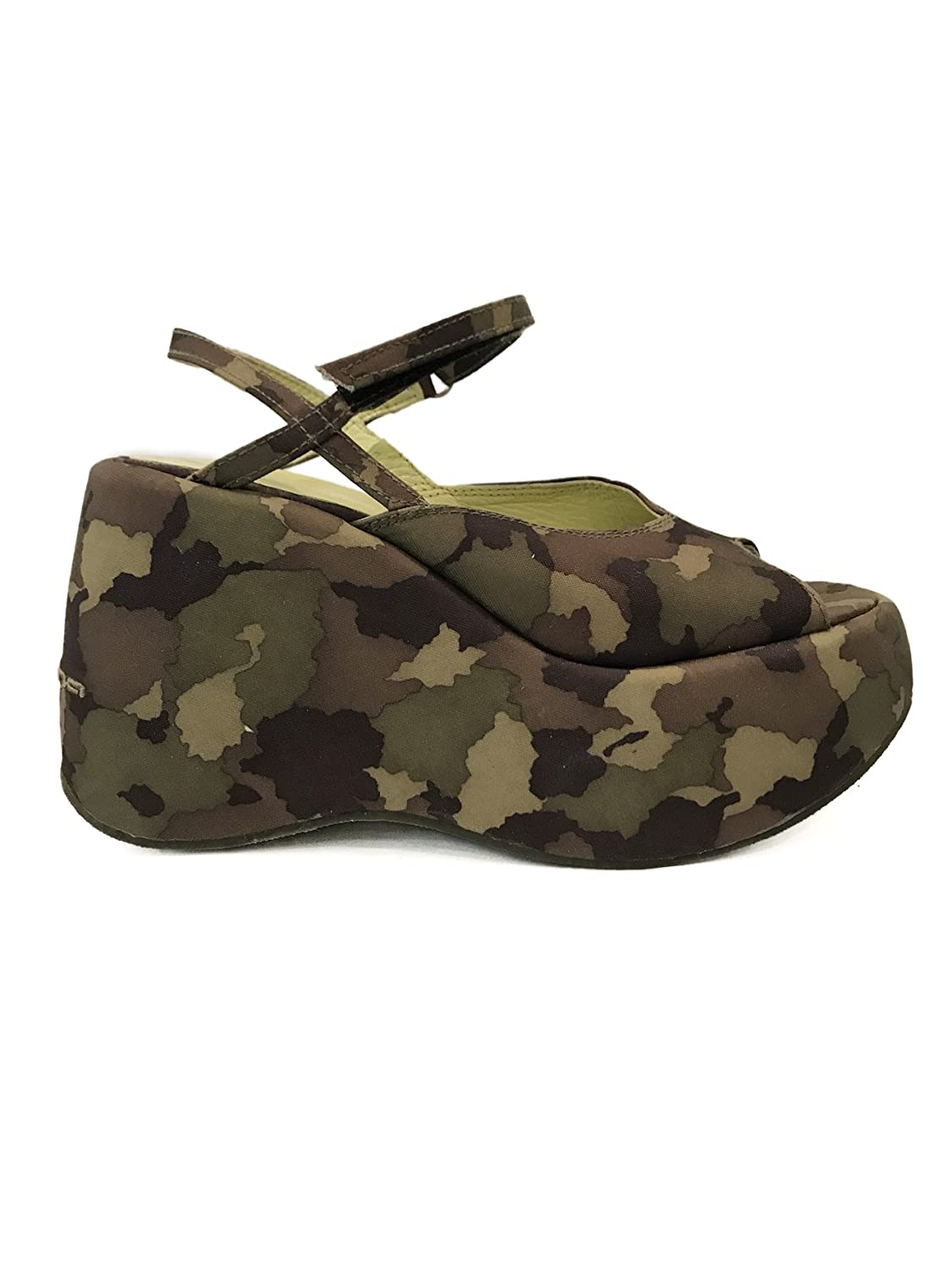 Fornarina PEF1409-350 Vintage Camouflage Sandals Vintage with with Fornarina 10 cm Wedge Camouflage d58d50a - gis9ma7le.space