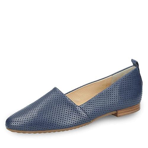 super popular wholesale online amazing price Paul Green Damen Slipper blau 1897-134 braun 380281