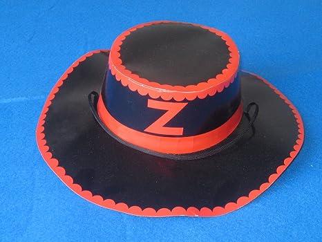 Accessorio cappello cappelli ZORRO travestimenti carnevale maschere per  bambino 54072b3f5dee