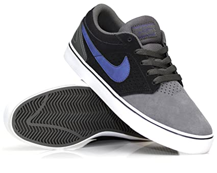 b4d60f3f57ff Amazon.com  Nike Sb Paul Rodriguez 5 Lr Sneaker - Midnight Fog Royal Blue  Black  Uk 10 eur 45 us 11  Sports   Outdoors