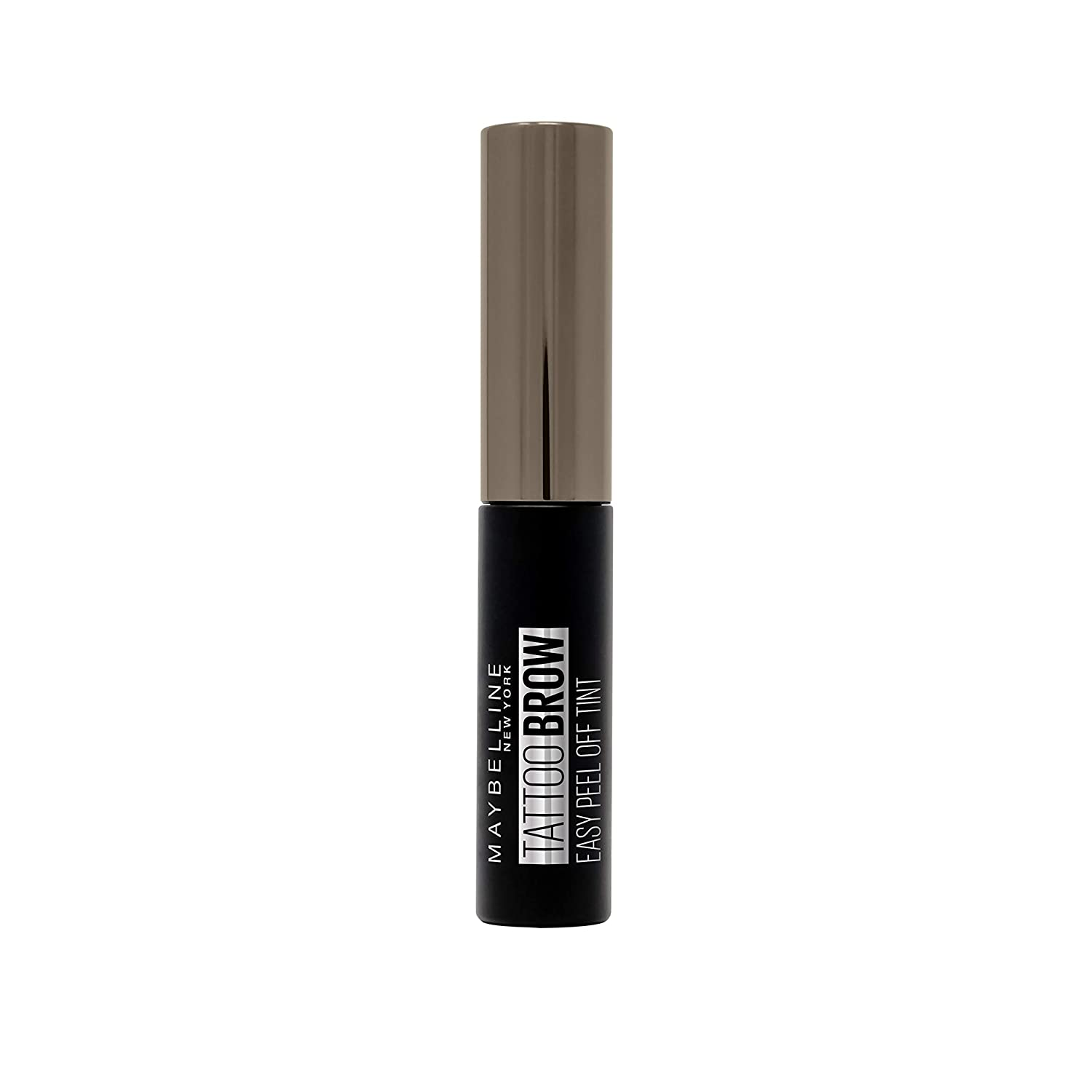 Maybelline New York Tinta per Sopracciglia Peel-off Tattoo Brow Risultato Definito fino a 3 Giorni, 2 Medium Brown B2998500
