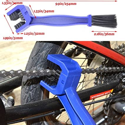 Motocicleta cadena de bicicleta limpia cepillo Motor Bike Chian ...
