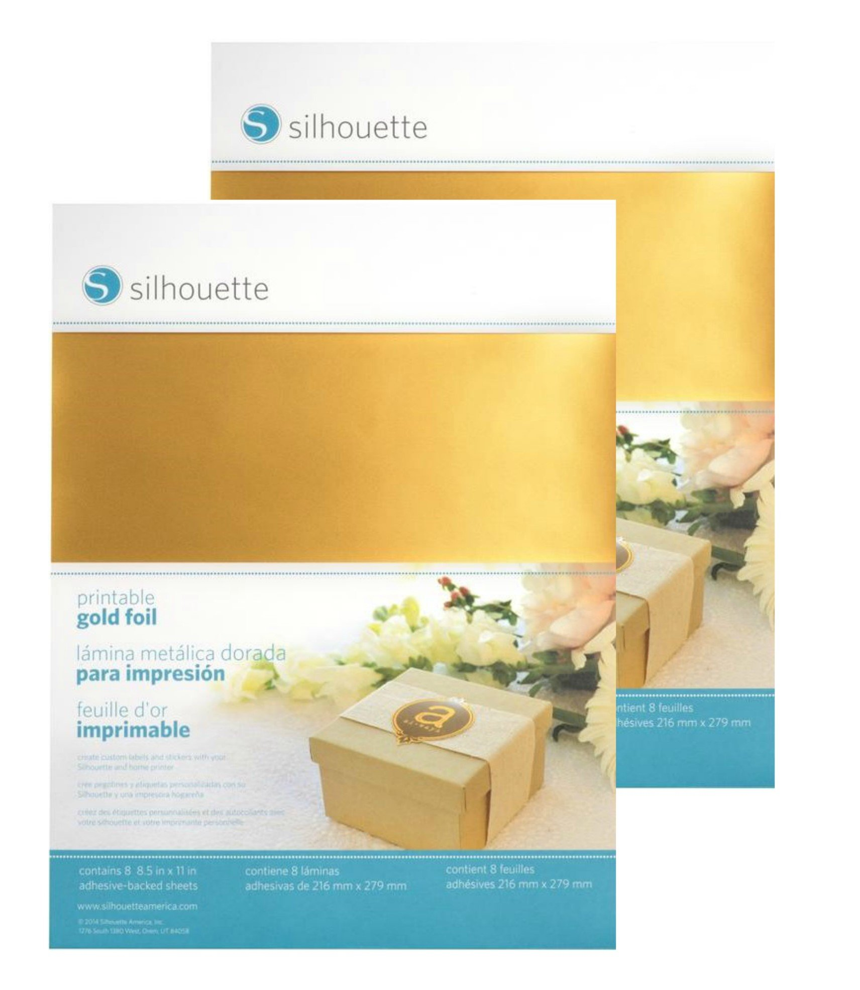 Silhouette Printable Gold Foil - 2 Pack by Silhouette