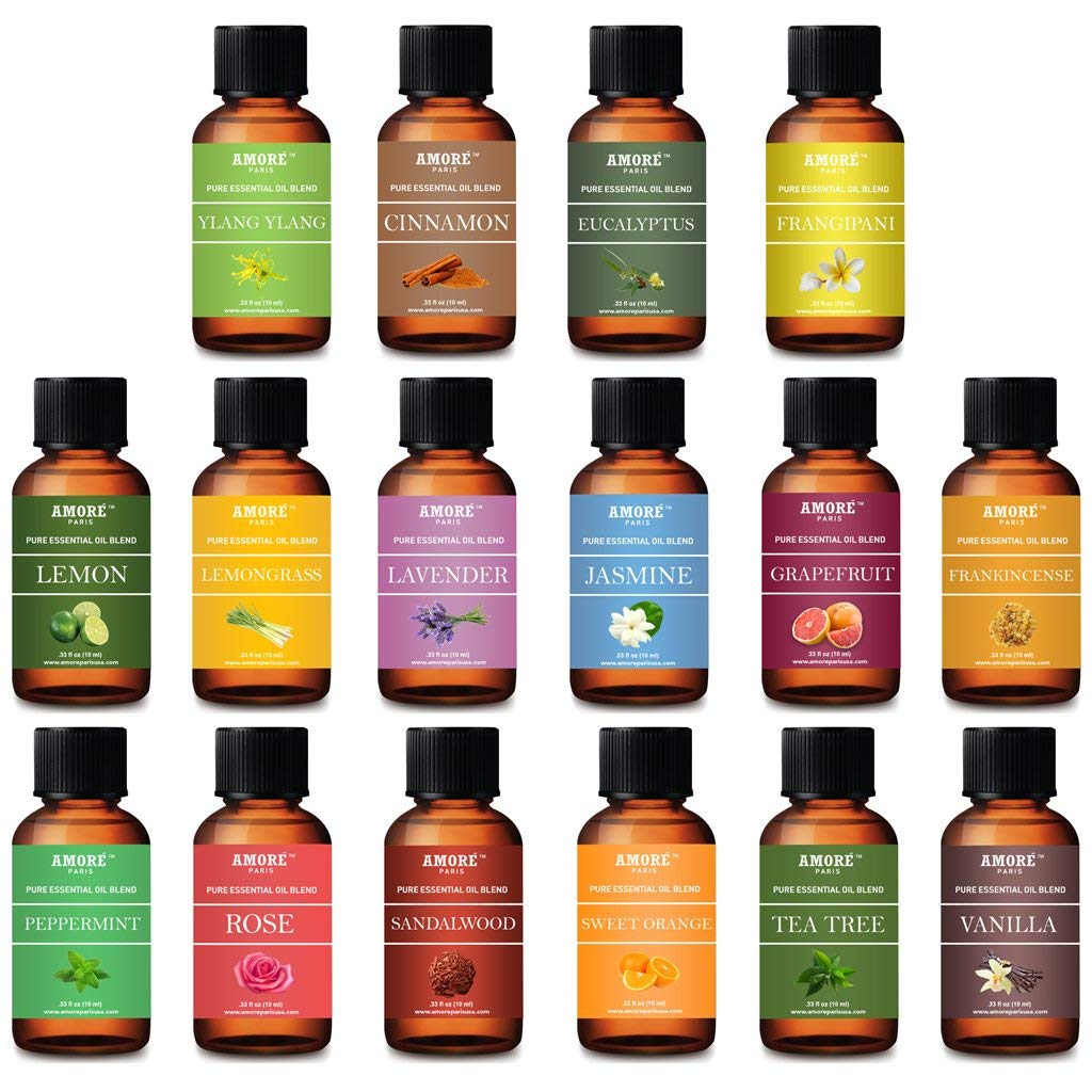 Aromatherapy 100% Pure Therapeutic 16 - Piece High Grade Essential-Oils : Beauty