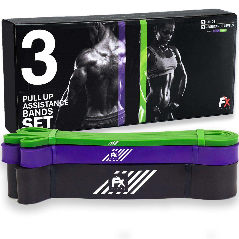 FX FFEXS Premium Bandes de Résistance Elastique d exercice Pull Up Chin  Traction product image 54cf7e1fa8b