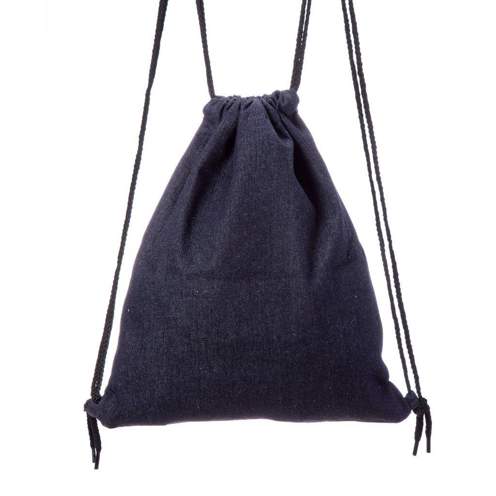 Lady Donovan Tasche Turnbeutel Jute-Tasche Jutebeutel einfarbig