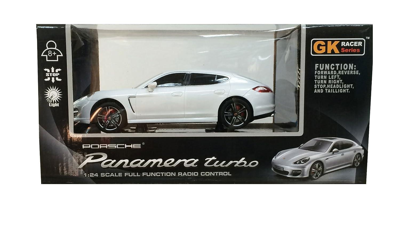 1 / 24RC automoevil Porsche Panamera (blanco): Amazon.es: Juguetes y juegos