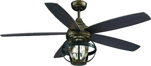 Savoy House 52-840-5CN-196 Alsace 52″ Ceiling Fan 52″ W x 21″H