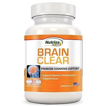 Amazon.com: Cerebro Apoyo Suplemento – Cerebro clara con ...