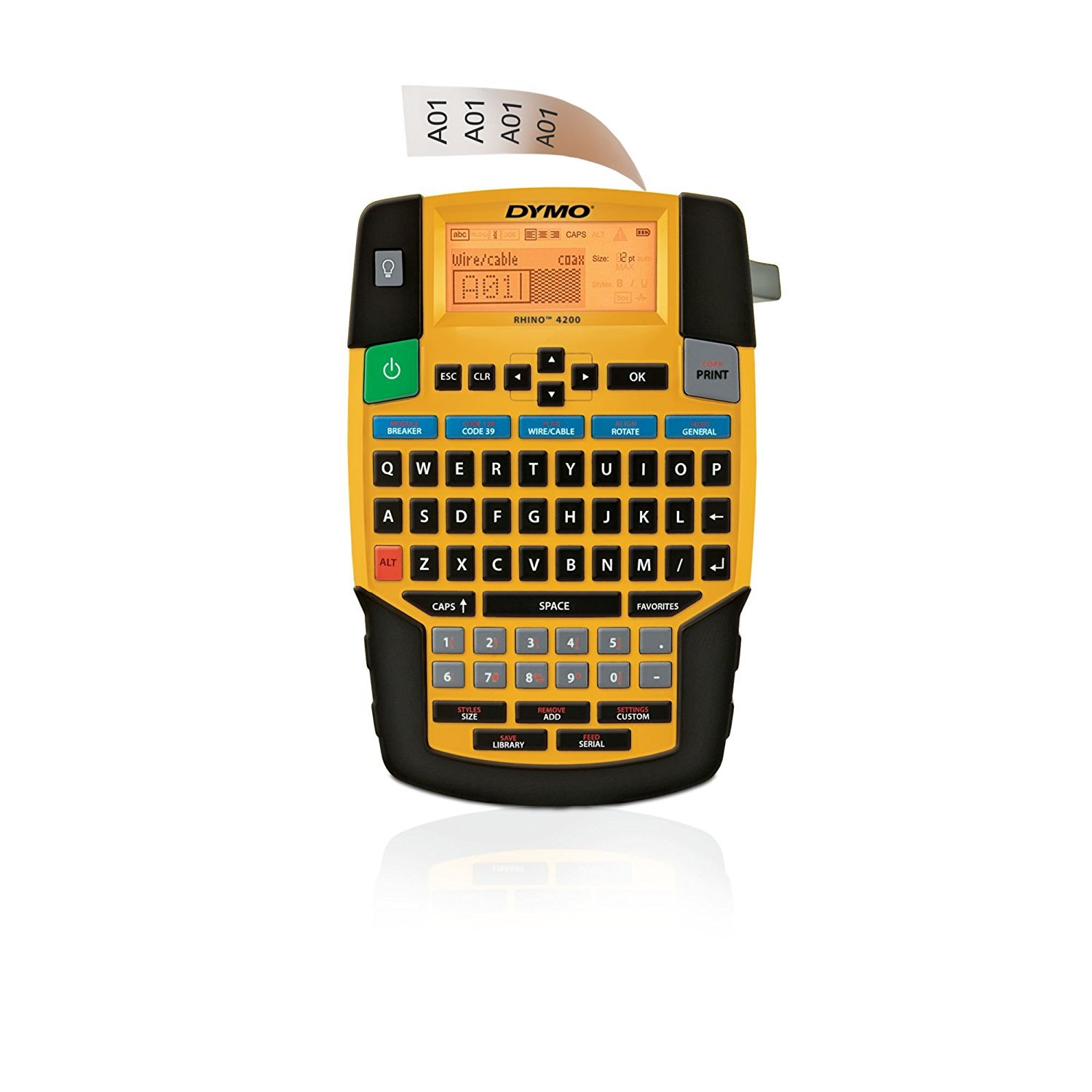 Dymo Rhino 4200 English Layout, Handheld use Label Maker S0955990