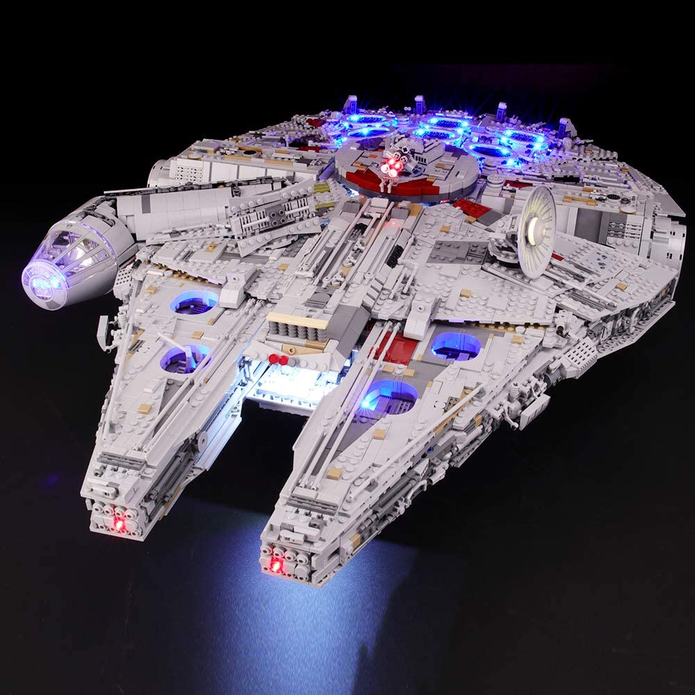 For LEGO 75192 Star War Falcon Millenniuml lighting kit LED Light