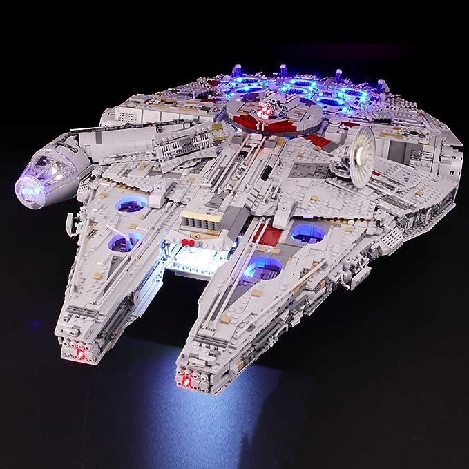 29,LED Set for Lego ® Millenium Falcon 24 LED/'s 75105 7965 /& 4504 UCS