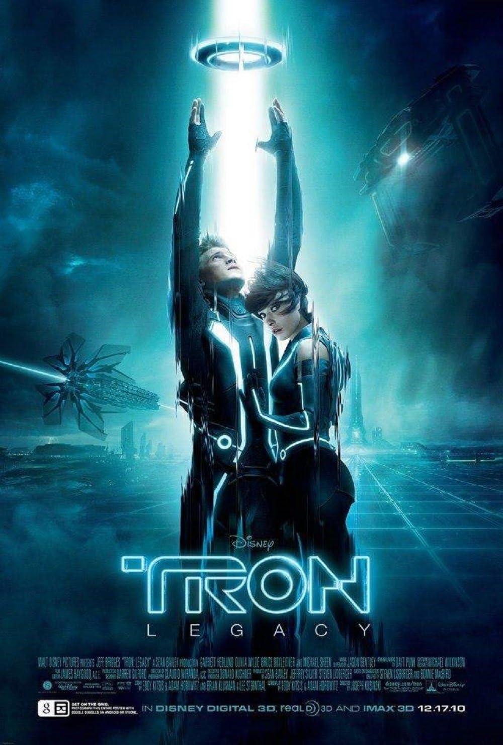 1982 Original Tron movie poster reprint